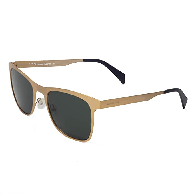 italia independent 0024-120-120 Gafas de Sol, Dorado, 53 ...