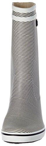 Print Bottes Malouine Marine Pluie de Aigle Stripy Femme 5Hq4g