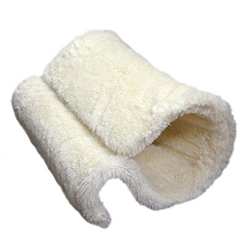 Rosewood Túnel y cama para gatos, para radiador o suelo, cálido, cómo y seguro, 40 x 31 x 31 cm, color crema: Amazon.es: Productos para mascotas