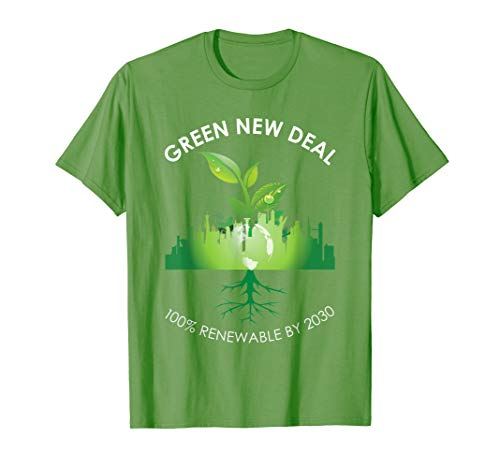 Green New Deal T-Shirt Socialist Equity Climate Change ()