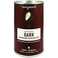 Loving Earth Raw Organic Dark Drinking Chocolate 250 g