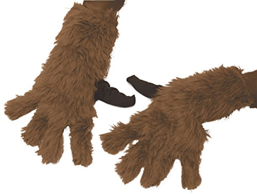 Child Rocket Raccoon Gloves (Rubie's Men's Guardians Of The Galaxy Rocket Raccoon Costume, GOTG Vol. 2, Gloves)