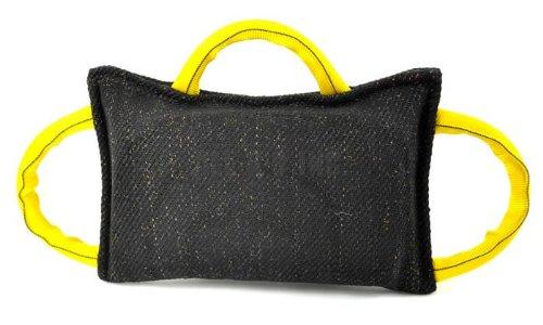 RedLine K9 3 Handle Gusset Dog Tug toy - Bite Suit Material Bite Suit Tug
