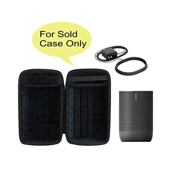 co2CREA Voyage Stockage Porter Étui Housse Case pour Sonos Move Enceinte Bluetooth 2