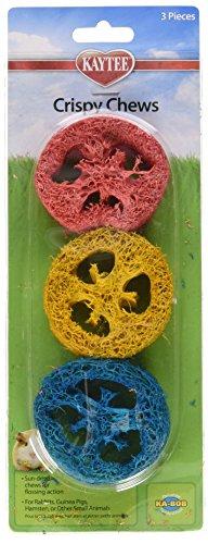 Super Pet Ka-Bob Small Animal Crispy Chew Treats, Colors Vary, 3 Treats Per ()