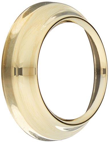 Moen 2198P Monticello Handle Escutcheon, Polished Brass