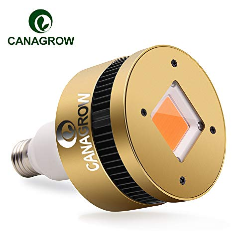 150W LED Grow Light Bulb Full Spectrum, CANAGROW E26 COB LED Plant Grow Lights for Indoor Plants, Growing Lamps for Hydroponics Seedlings Vegetables Flowers