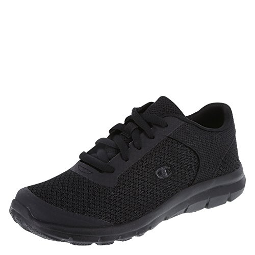 Champion Boy's Black Performance Gusto Cross Trainer Big Kid Size 4.5 Regular