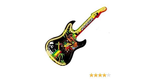 Péndulo guitarra neón Jamaica: Amazon.es: Hogar