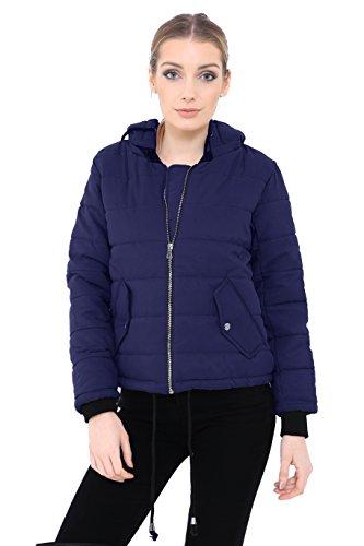 chaqueta guateada Fashion marino Generation Chaqueta azul para mujer wx6PW41qE