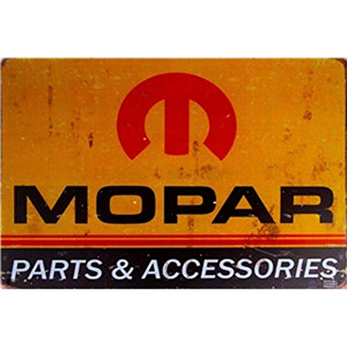 - YOMIA Vintage Look Reproduction Mopar Metal Tin Signs Pub Bar Garage Retro Marks Plaque Iron Painting Wall Poster Home Hanging