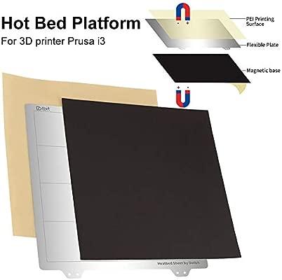 decaden 3D Printer - Placa con Forma de Cama calefactora Adhesiva ...