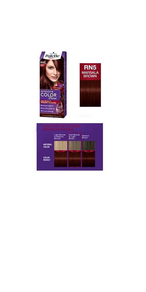 Amazon Palette Intensive Color Creme Rn5 Marsala Brown