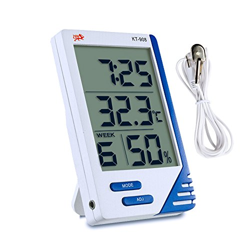 Samshow Hygrometer Thermometer Portable Temperature