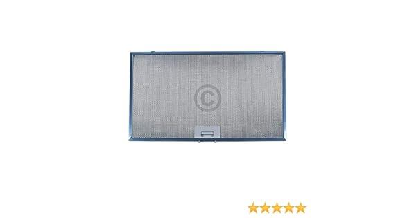 Filtro de grasa metálico rectangular 506 x 300 mm adecuado para campanas extractoras Bosch Siemens 744829: Amazon.es: Grandes electrodomésticos