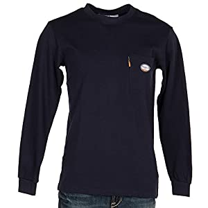 Rasco FR Mens Long Sleeve FR Khaki Tee Shirt