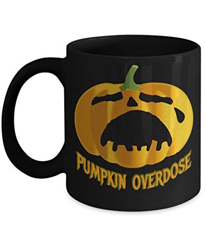 Pumpkin Overdose Halloween Mug -