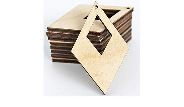 Weightlesswood chevron,diamond wood earrings,wenge wood,laser cut