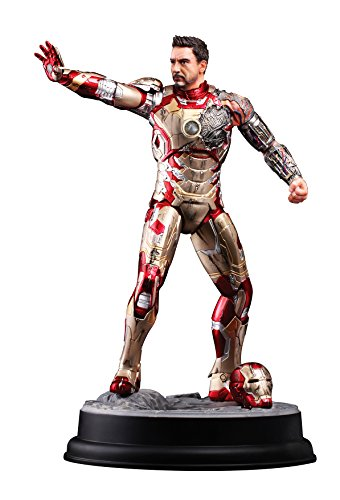 Dragon Models Iron Man 3 - Mark XLII, Battle Damaged Version Model Kit (1/9 Scale) ()