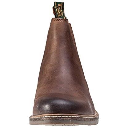Barbour FARSLEY Chelsea Boots Dark Tan 3