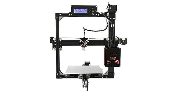 Blackpoolal Impresora 3D Pantalla LCD Profesional 100MM / S MAX ...