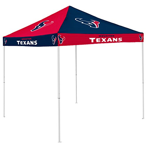 Logo Brands NFL Houston Texans Checkerboard Tent Checkerboard Tent, Navy, One Size