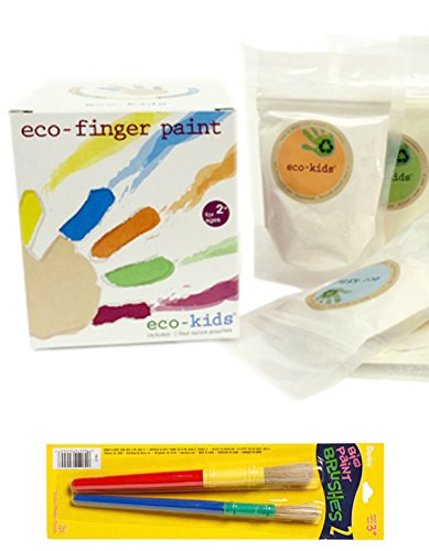 eco-kids-non-toxic-finger-paint-and-toddler-brush-set