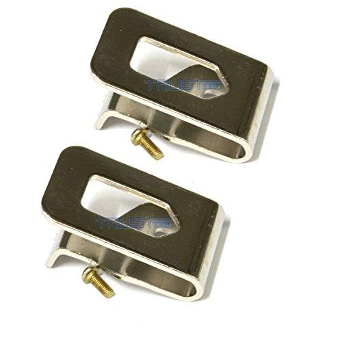 Eztronics Corp® 2x Belt Hook For Dewalt DCD780B DCD985B DCF883B DCF883L2 DCF880B DCF880HL2 DCF886B