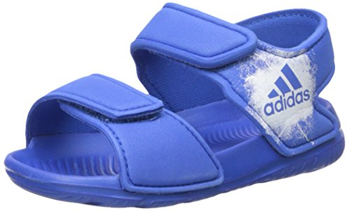 Price comparison product image adidas Boys' Altaswim I, Blue/White/White, 9 Medium US Toddler