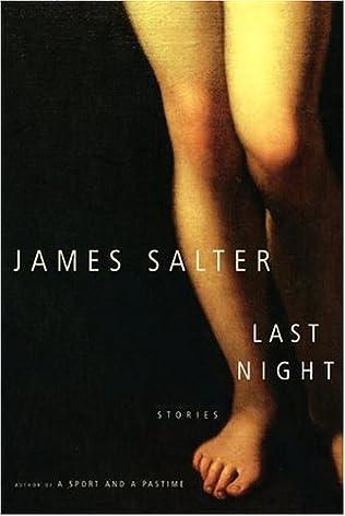 book cover of Last Night