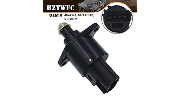 HZTWFC Idle Air Control Valve 4874373 4874373AB 53030821 Compatible for Jeep Grand Cherokee TJ Wrangler