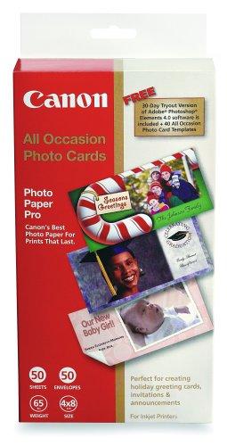 Price comparison product image Canon All Occasion Photo Cards 4inx 8in