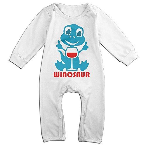 [ZhoYHHeng Winosaur Newborn Babys Long Sleeve Baby Climbing Clothes White 24 Months] (Soul Train Outfits)