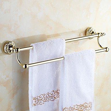 qiuxi Bathroom towel bars Neoclassical Ti-PVD Wall Mounted Towel Bars