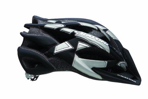 Cratoni Rocket Bicycle Helmet, Black/Anthracite, Medium/Large