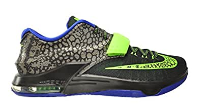 the best attitude ea9c7 6a985 Nike KD VII Electric Eel Men's Shoes Metallic Pewter/Flash Lime-Anthracite- Lyon