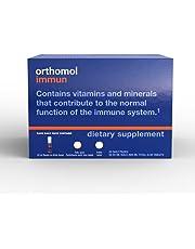 Orthomol Immun Vial, Immune Support Supplement, 30-Day Supply, Vitamins A, B, C, D, E, Zinc, Iodine