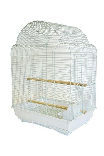 YML A1704 Bar Spacing Shell Top Bird Cage