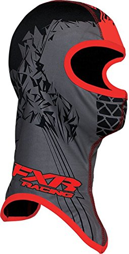 FXR Shredder Balaclava, BLK/RED, SM