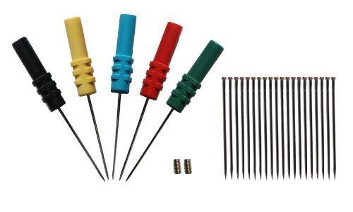 Back Probe (Hantek Back Pinning Probes/Needle/ Piercing Probes Set(Set of 5,Assorted Colors))