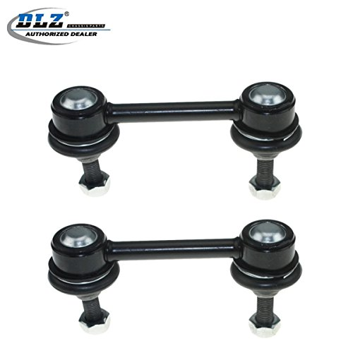 (DLZ 2 Pcs Rear Stabilizer Bar Sway Bar Link Link Compatible with Saturn SC1 SC2 1993-2002, Compatible with Saturn SL SL1 SL2 1991-2002, Compatible with Saturn SW1/SW2 1993-1999)