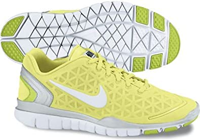 sports shoes 07316 1ed64 Nike Free TR Fit 2 Womens Training Shoes Liquid Lime/White-Pro Platinum-