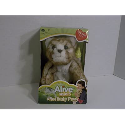 WowWee Alive Mini - Red Husky Puppy: Toys & Games