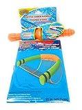 Kids Spring Summer Fun Backyard Outdoor Play Playtime Pool Lake Beach Water Battle Saber Handle & Noodle Chair Bundle of 2