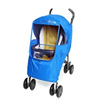 Manito Elegance Plus Stroller Weather Shield/Rain Cover, Blue