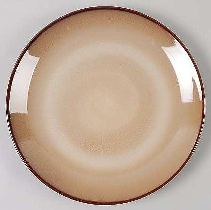 Sango Nova Brown Dinner Plate Round & Amazon.com | Sango Nova Brown Dinner Plate Round: Dinner Plates