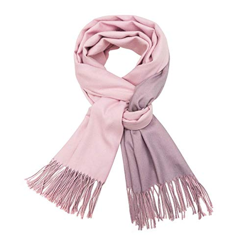Womans Sashmere  Scarf Pink