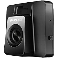 PAPAGO GS118-US GoSafe 118 HD Mini Dash Cam - Car DVR Dashboard Camera Video Recorder with 2 LCD Screen(Black)
