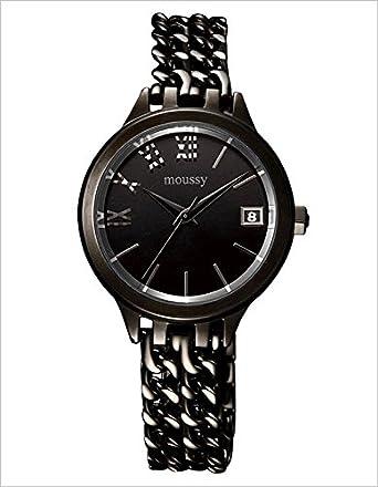 adf30b0799 Amazon   マウジー腕時計 MOUSSY WM00411A 腕時計 マウジー 時計 オリエント ORIENT ダブル チェイン  MOUSSYDouble Chain   国内メーカー   腕時計 通販