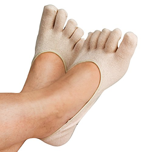 Therapeutic Heel Gel Toe Socks by Dr. Leonard's